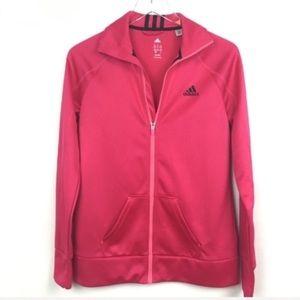 Adidas | Pink & Black Athletic Workout Jacket S